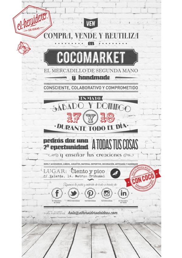 Cartel COCOMARKET Mayo