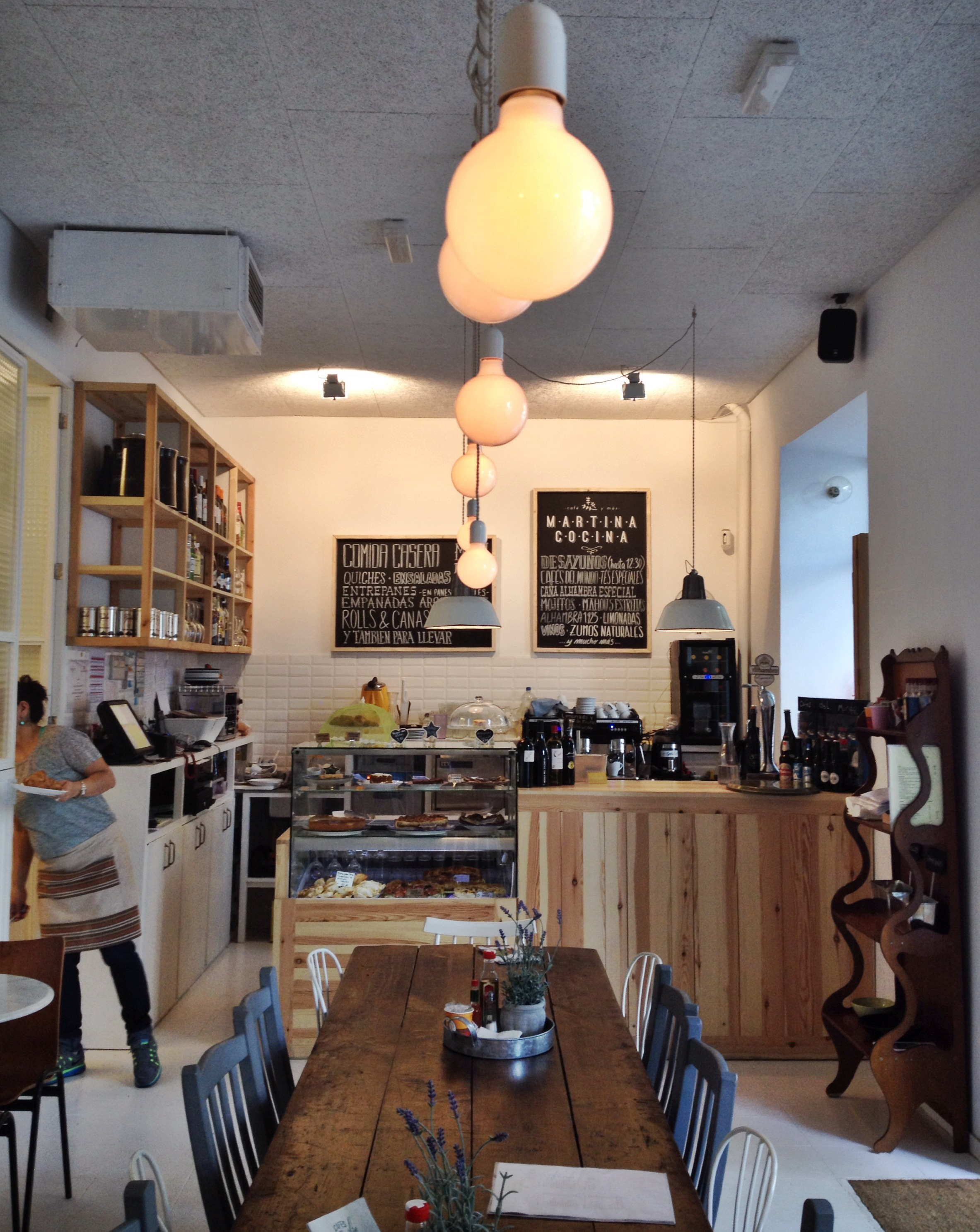 Elherviderosereune restaurantes lugares madrid ocio for Bares rusticos decoracion