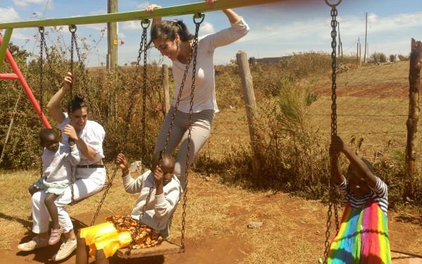 Voluntaria en Centro Formativo Niñas en Kenia
